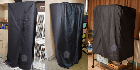 Parrot Funhouse made to measure cage covers
