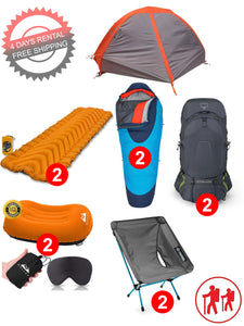 2 Person Lightweight Backpacking Set