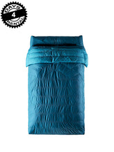 Load image into Gallery viewer, Klymit KSB 30 Degree Down Two Person Double Sleeping Bag, Blue