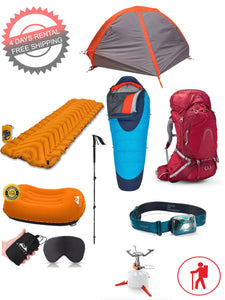 1 Person Lightweight Backpacking Set