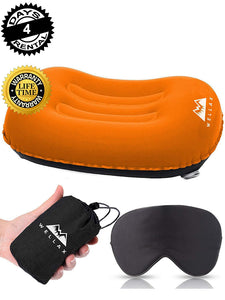 WellaX Ultralight Camping/Backpacking Pillow - Compressible