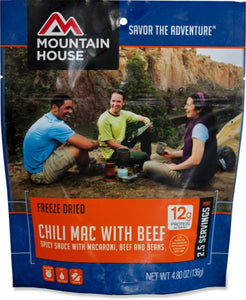 Mountain High Chili Mac with Beef - 2.5 Servings