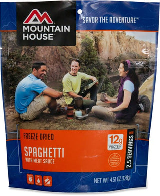 Mountain House Spaghetti with Meat Sauce - 2.5 Servings