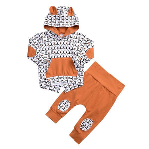 Sam- Animal Print Set - Terrible Twos Boutique
