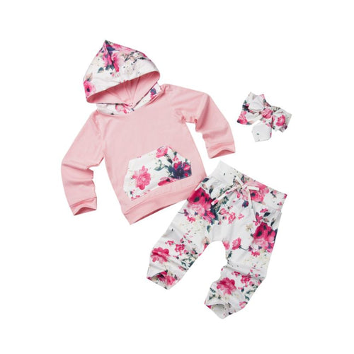 Kimberly- Floral Jogger Set - Terrible Twos Boutique