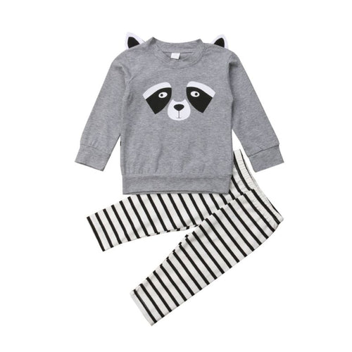 Blair- Panda Sweater Set - Terrible Twos Boutique