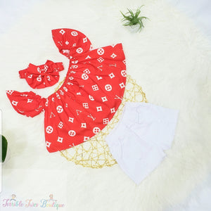 Addison -  Off the Shoulder Short Set - Terrible Twos Boutique