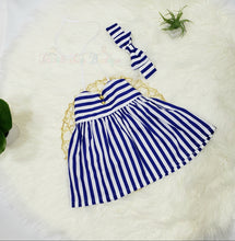 Load image into Gallery viewer, Audrey- Striped Dress - Terrible Twos Boutique