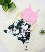 Load image into Gallery viewer, Cameron- Ruffle Top Short Set - Terrible Twos Boutique