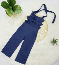 Load image into Gallery viewer, Sasha- Ruffle Jumpsuit - Terrible Twos Boutique