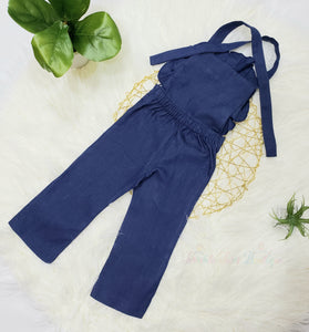 Sasha- Ruffle Jumpsuit - Terrible Twos Boutique