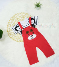 Load image into Gallery viewer, Joshua- Animal Style Suspender Set - Terrible Twos Boutique