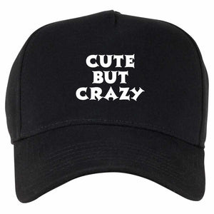 Cute But Crazy Handmade QuaIity Unisex Cap.
