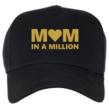 Load image into Gallery viewer, MUM IN A MILLION QuaIity Handmade Unisex Cap.