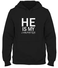 Load image into Gallery viewer, He Is My Comforter Unisex Handmade Quality Hoodie.