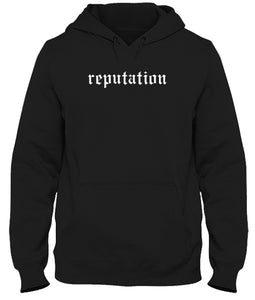 Reputation Inspired Unisex Handmade Hoodie.