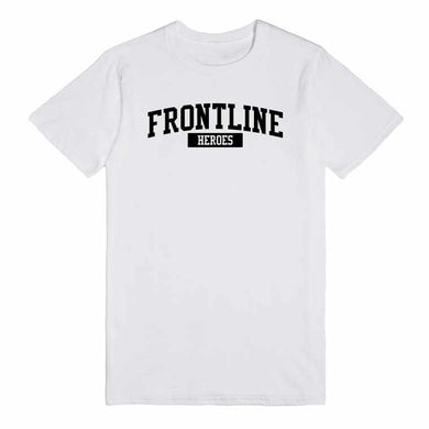 Frontline Heroes Unisex Handmade Quality T-Shirt.