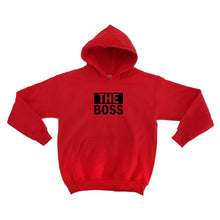 Load image into Gallery viewer, The Boss Unisex Handmade Quality Hoodie.