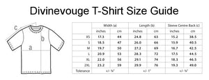 Divinevouge High Fashion Unisex Handmade Quality T- Shirt.