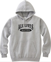 Load image into Gallery viewer, All Lives Matter Unisex Handmade Quality Hoodie.
