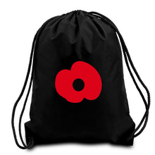 Load image into Gallery viewer, Poppy World War Remembrance QuaIity Handmade Bag.