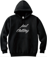 Load image into Gallery viewer, Just Chilling Quality Unisex Handmade Hoodie.