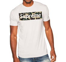 Load image into Gallery viewer, Supreme Camouflage Unisex Handmade Quality T Shirt.