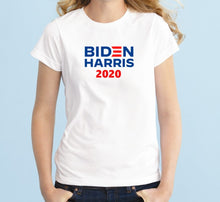Load image into Gallery viewer, Biden Harris 2020 Unisex Handmade Quality T-Shirt.