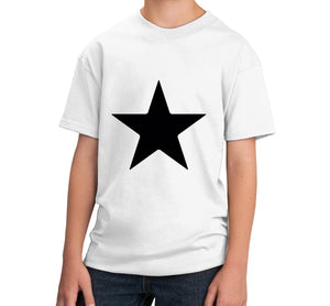 Star Unisex Kids Handmade Quality T-Shirt Perfect Gift Item.
