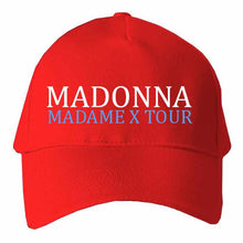 Load image into Gallery viewer, Madonna Madame X Tour Inspired  QuaIity Handmade Unisex Cap.