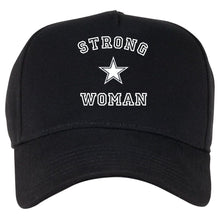Load image into Gallery viewer, Strong Woman QuaIity Handmade Unisex Cap.