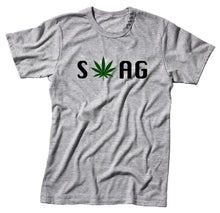 Load image into Gallery viewer, Swag Marijuana Sativa Unisex Handmade Quality T-Shirt Perfect Gift Item.