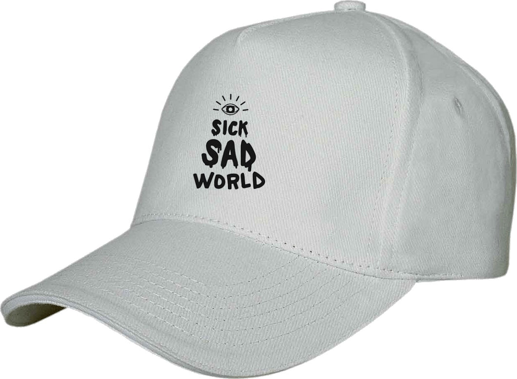 Sick Sad World QuaIity Handmade Unisex Cap.