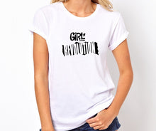 Load image into Gallery viewer, Girl Revolution Unisex Handmade Quality T- Shirt.