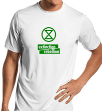 Load image into Gallery viewer, Extinction Rebellion Unisex Handmade Quality T-Shirt.
