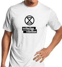 Load image into Gallery viewer, Extinction Rebellion Unisex Quality Handmade T-Shirt.