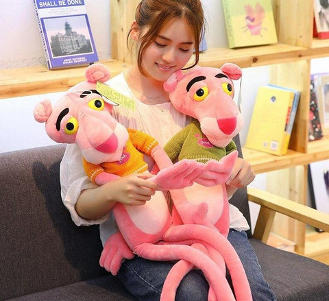 Giant Pink Panther Plush Doll