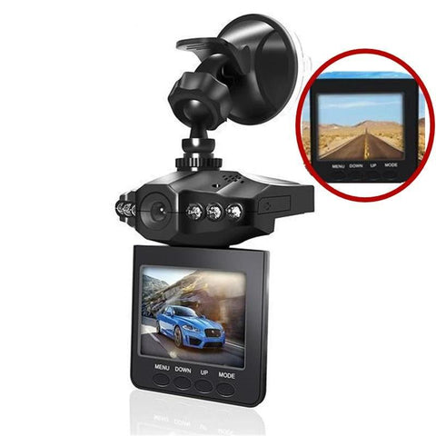 Rotatable Camera Recorder For Cars