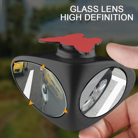 Rotatable Car Blind Spot Mirror