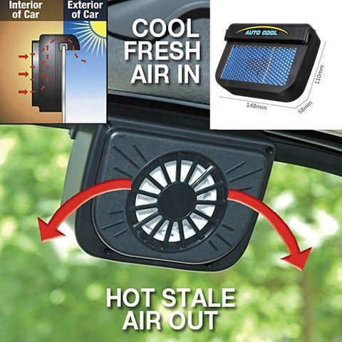 Solar Powered Auto Car Ventilation System