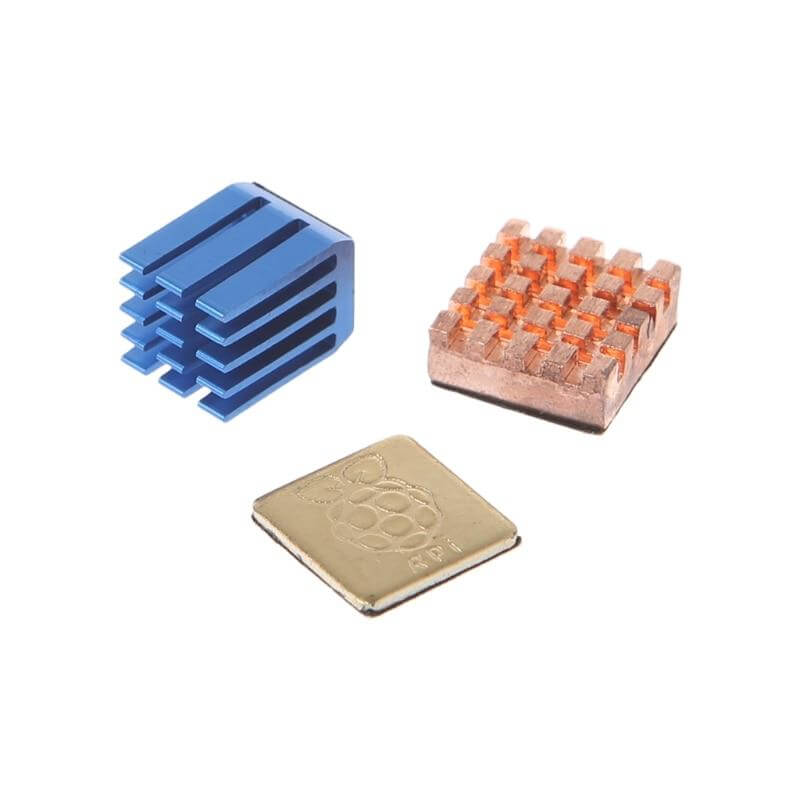 1 Aluminum + 2 Copper Heat Sinks - Shop For Gamers