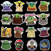 The Mandalorian Baby Yoda Stickers - Shop For Gamers