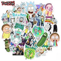 Rick And Morty Characters Cartoon Stickers - Shop For Gamers