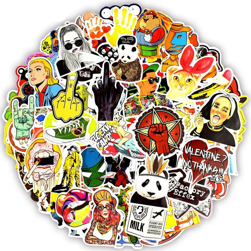 Colorful Waterproof Stickers - Shop For Gamers