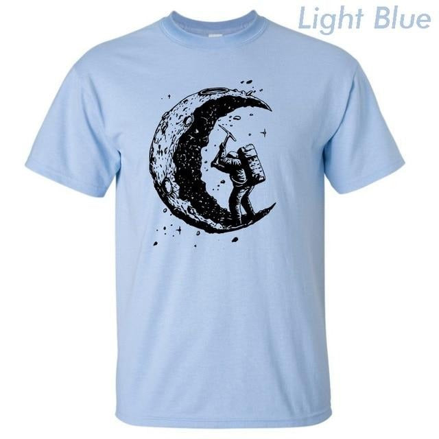 Digging The Moon T-Shirts - Shop For Gamers