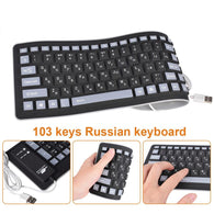 Thundeal 103 Keys Conductive Rubber Keyboard - Shop For Gamers