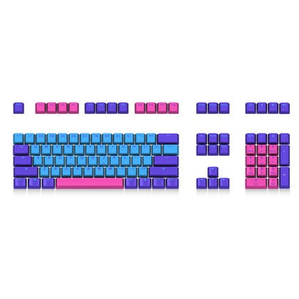 Akko X Ducky PBT Two Color Key cap Mechanical keyboard - Shop For Gamers