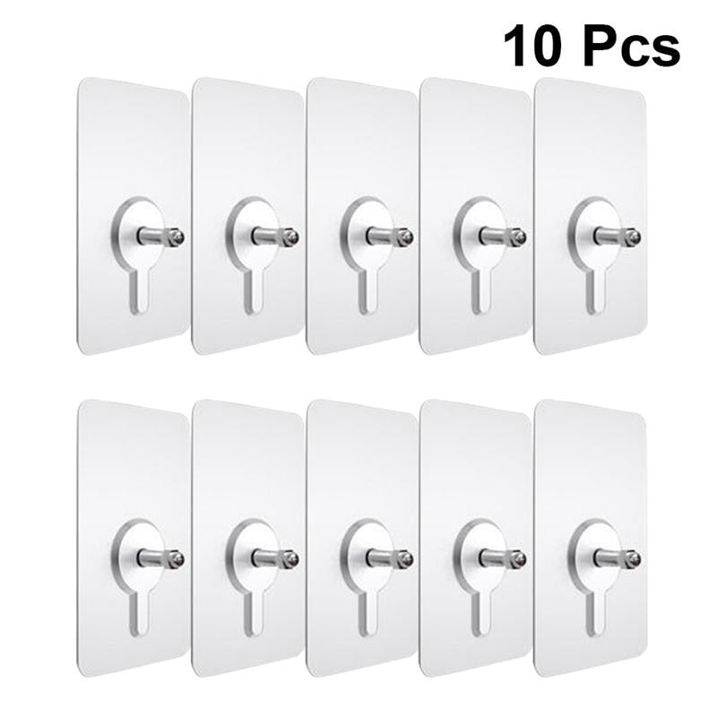 10 Pieces Punch-Free Non-Marking Screw Stickers - Shop For Gamers