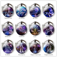 12 Constellation Key Chains - Shop For Gamers