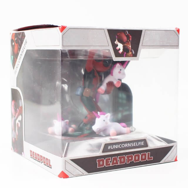 Deadpool Funny Unicorn Selfie Action Figure - Shop For Gamers